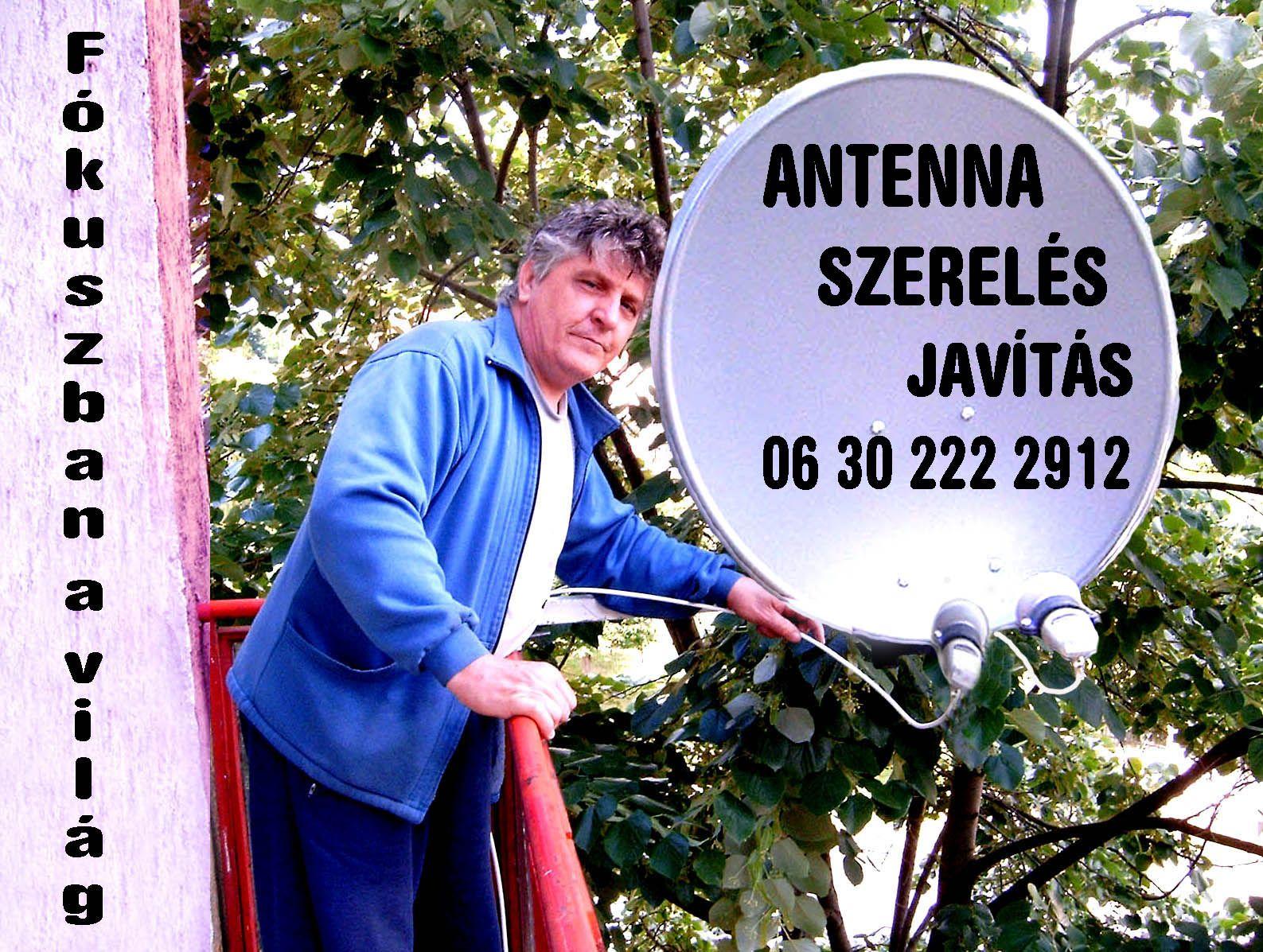 Antenna szerelés javitas