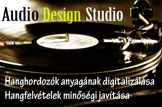 Audio design studio restore logo