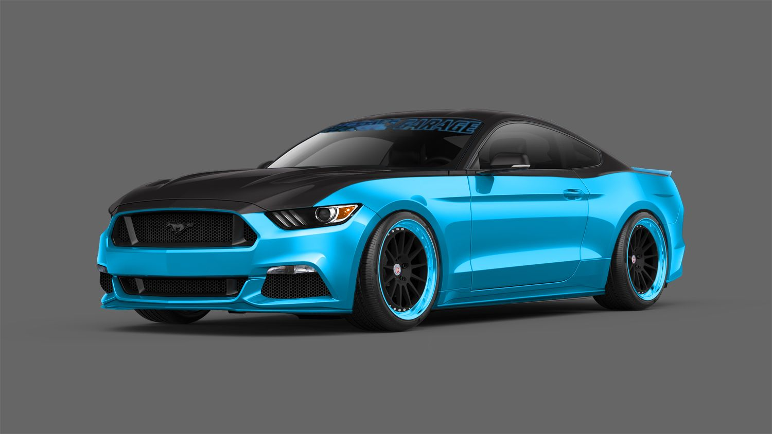J tuning mustang ok a sema show n for Garage ford belley 01