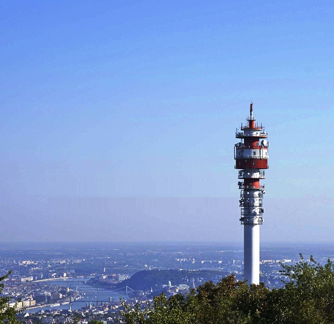 DVB-T antenna torony.