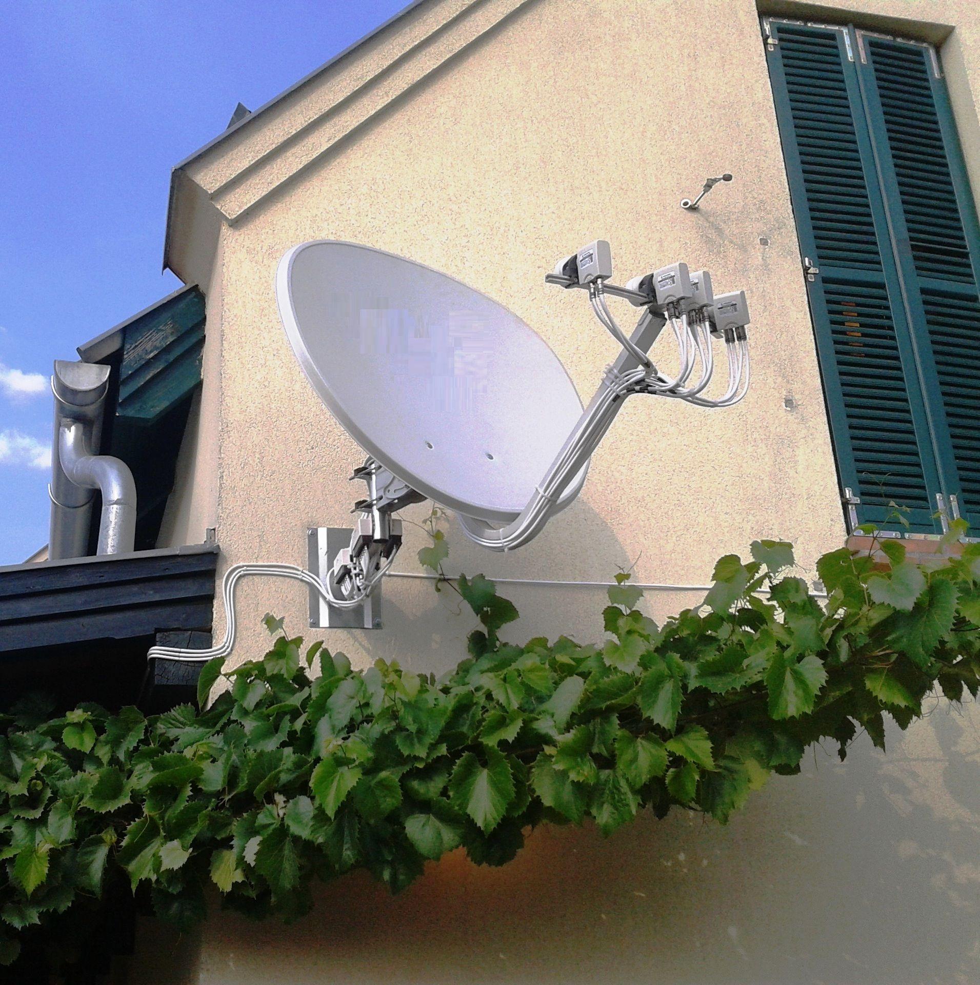 Multifókuszos parabola antenna.