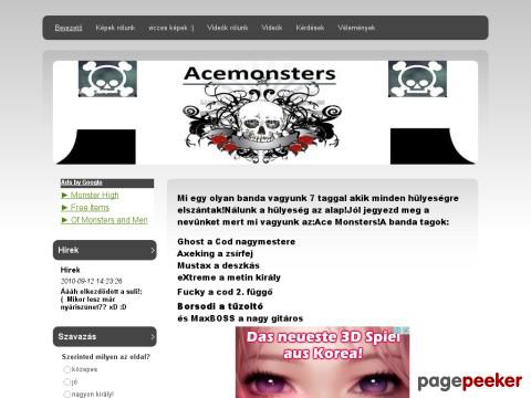Acemonsters