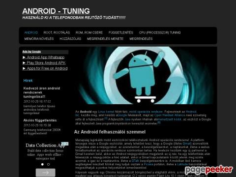 Androidtuning - android tuning