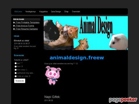 Animaldesign