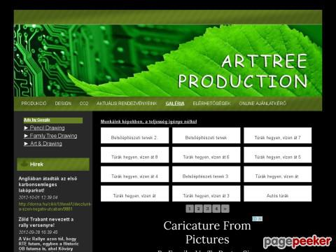 Arttree - produktion,produkció