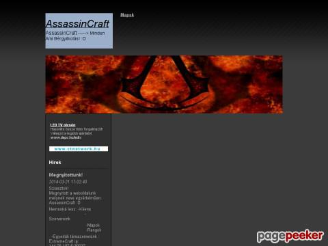 Assassinscraft - Mapok(AssassinCraft)