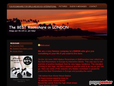 Bestroomsharelondon - About us