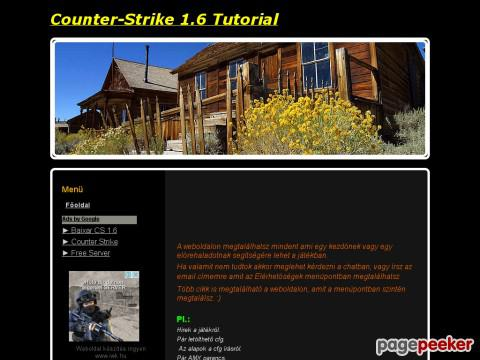 Counterstriketutorial - Counter-Strike 1.6 Tutorial