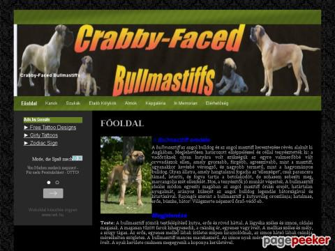 Crabbyfacedbullmastiffs - crabby-faced. bullmastiffs kennel