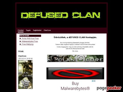 Defused - dEFUSED Clan Cod2