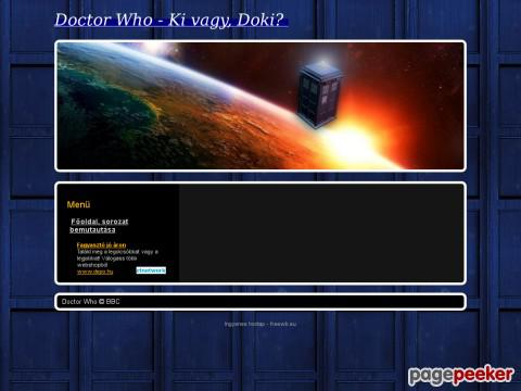 Doctorwhonewseries