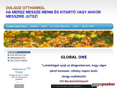 Dolgozotthon - Global One,Ultimate Power Profits