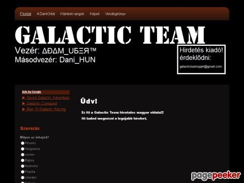 Galacticteam - >>>Galactic Team<<<