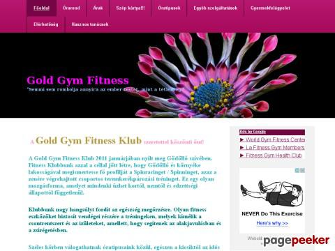 Goldgymfitness - fittness