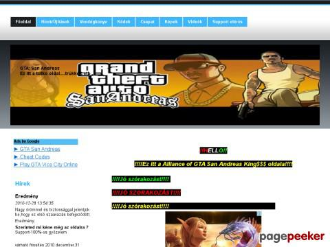 Gtasanandreasweb
