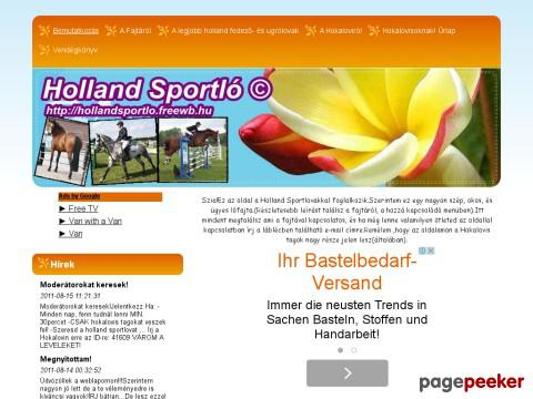 Hollandsportlo