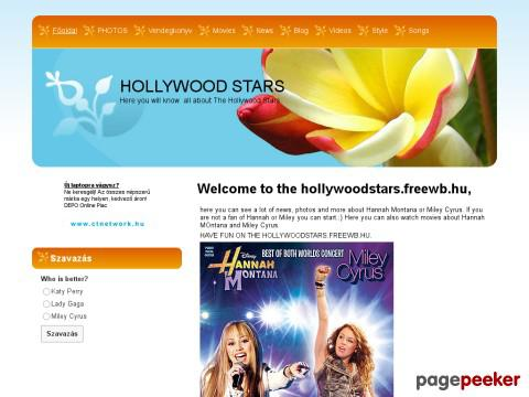 Hollywoodstars - hollywood stars