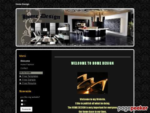 Homedesign - Welcom to HOME DESIGN