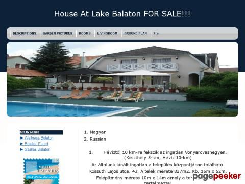 Houseatbalaton - Description