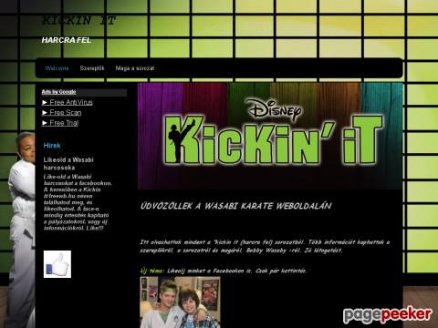 Kickinit - Kickin It - Harcra fel