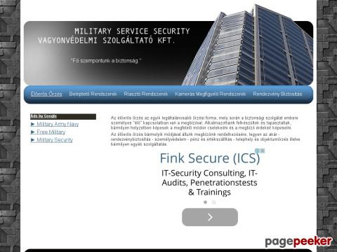 Militaryservicesecurity