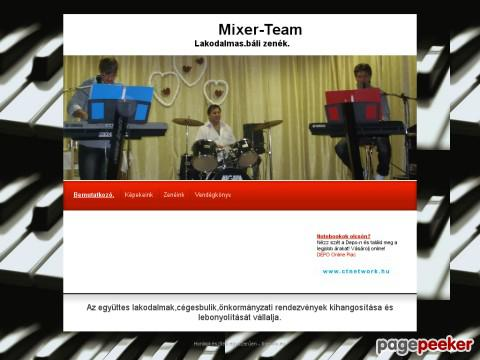 Mixerteam
