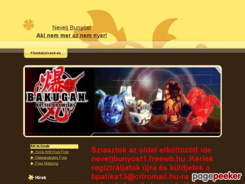 Neveljbakugant - Bakugan nevelde