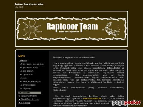 Raptooorteam