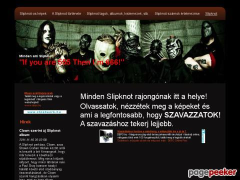 Rockerek - Slipknot