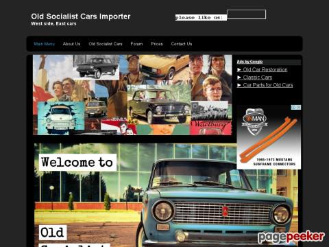 Socialistcarimporter - Old Socialist Cars Importer - Cars from the easter ...