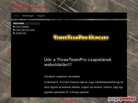 Threeteampro - Three Team Pro Hungary