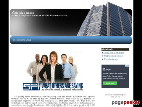 Uzletek - SFI Marketing Group - online uzlet