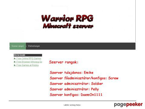 Warriorrpg - Warrior RPG