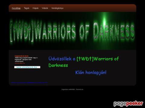 Warriorsofdarkness