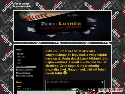 Zekeandluther - Zeke és Luther